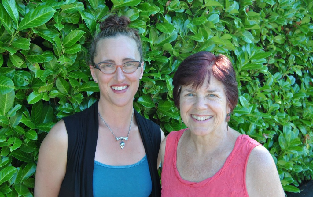 Catriona Munro and Christine Gibbs